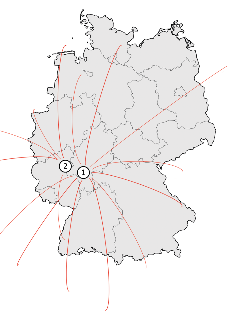 Kontakt Karte
